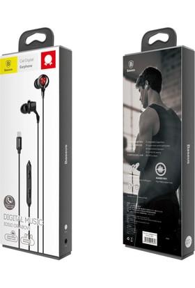 Baseus P04 Mfi Made For Apple Lisanslı Mikrofonlu Kulaklık