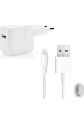 Zore iPad Mini 2/3 Şarj Seti (Kablo+Adaptör)
