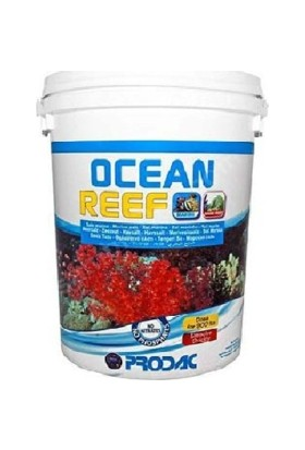 Prodac Ocean Reef Salt Resif Deniz Akvaryum Tuzu 240 Lt 8 Kg