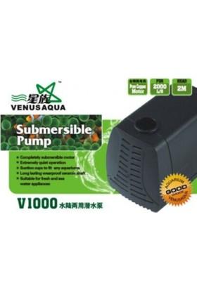 Venusaqua Akvaryum Kafa Sump Motoru V1000 2000 Lt / Saat 40 Watt