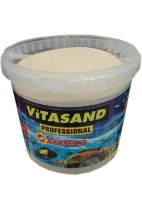 Vitasand Pro-78 Akvaryum Silis Kum 7 Mm 20 Kg