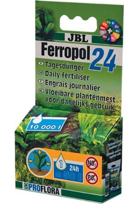 Jbl Ferropol Akvaryum Bitki Gübresi 10 Ml