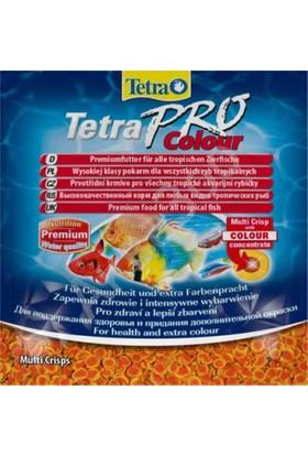 Tetra Pro Colour Crisps Cips Renklendirici Balık Yemi 12 Gr Poşet