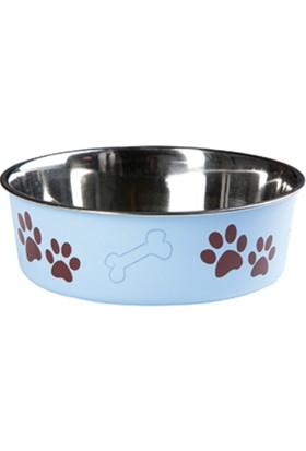 Karlie Bella Kedi Köpek Mama Kabı Mavi 14Cm
