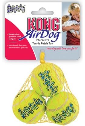 Kong Köpek Oyuncak Air Sq Sesli Tenis Topu Small 3 Adet 5 Cm