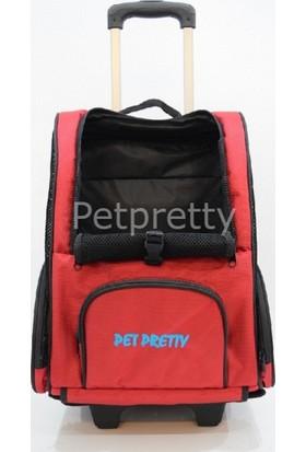 Pet Pretty Kedi Köpek Çekçekli Sırt Taşıma Çantası