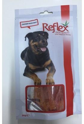Reflex Tavuk Yumuşak Dilim Köpek Kurutulmuş Et Ödülü 80 Gr