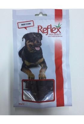 Reflex Biftek Dilim Küp Köpek Kurutulmuş Et Ödülü 80 Gr