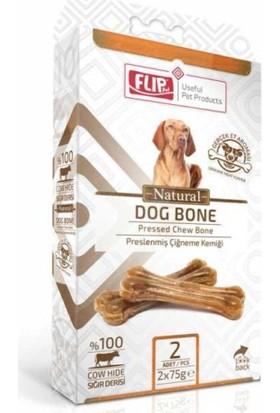 Flip Natural Press Köpek Çiğneme Kemiği 75 Gr 2 Li Paket
