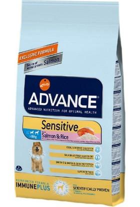 Advance Dog Sensitive Somonlu Pirinçli Hassas Yetişkin Köpek Maması 3Kg