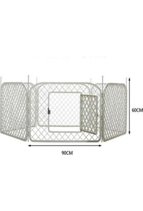 Plastik Çit Köpek Oyun Alanı 90 Cm Kenarlı Altıgen 60 Cm Yükseklik