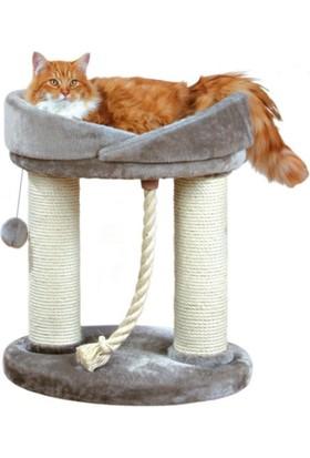 Trixie Kedi Oyun Ve Tırmalama Evi Gri 60 Cm