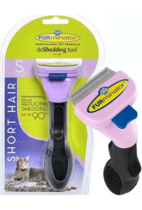 Furminatör Kırık Ve Dökülecek Tüy Toplayıcı Kısa Tüylü Kedi Tarağı Small