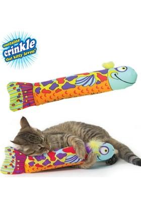 Pet Stages Madcap Crunch Fish Kedi Oyuncağı