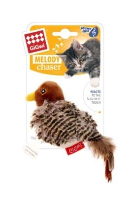 Melody Chaser Hareket Algıladığında Öten Kuş Kedi Oyuncağı