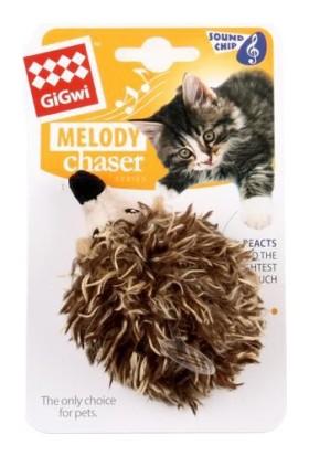 Melody Chaser Hareket Algıladığında Öten Kirpi Kedi Oyuncağı