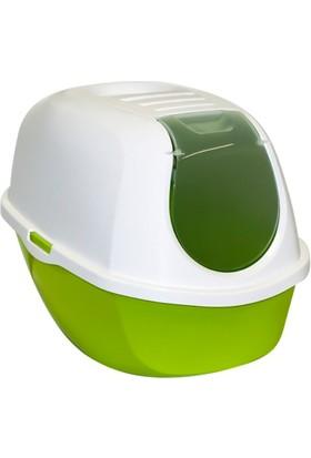 Moderna Smart Kapalı Tuvalet Kabı 53 Cm Yeşil