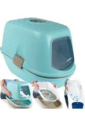Trixie Elekli Kapalı Kedi Tuvaleti 39 Cm X 42 Cm X 59 Cm