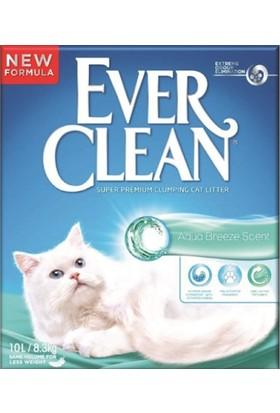 Ever Clean Aqua Breeze - Okyanus Esintisi Parfümlü Kedi Kumu 10 Litre