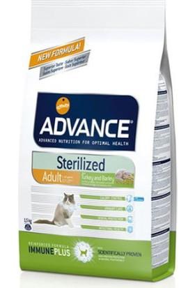 Advance Cat Sterilised Kısırlaştırılmış Hindili Kedi Maması 1.5Kg