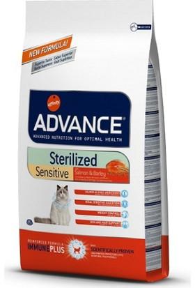 Advance Cat Sterilized Somonlu Pirinçli Kısır Yetişkin Kedi Maması 10 Kg