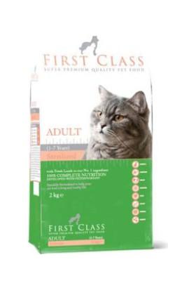 First Class Somonlu Kısırlaştırılmış Kedi Maması 2 Kg