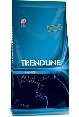 Trendline Somonlu Yetişkin Kedi Maması 15 Kg