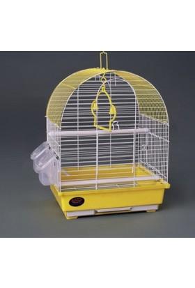 Dayang İki Kapılı Davul Muhabbet Kuşu Kafesi