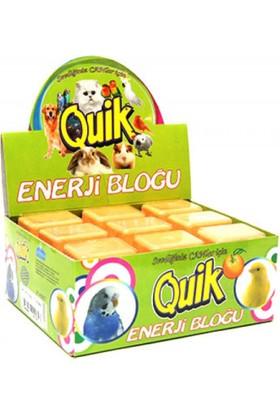 Quik Enerji Bloğu Gaga Taşı Portakallı