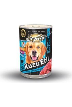 Doglife Kuzu Etli Yetişkin Köpek Konservesi 415 Gr