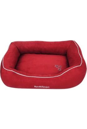Reddingo Kırmızı Kedi Ve Köpek Yatağı Medium