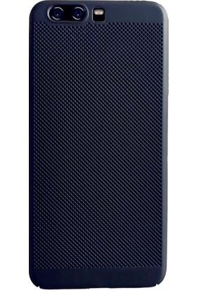 KılıfShop Huawei P10 Plus Fileli Sert Silikon Kılıf