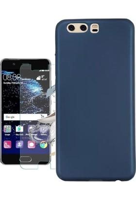 KılıfShop Huawei P10 Plus Premier Silikon Kılıf + Ekran Koruyucu