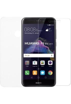 KılıfShop Huawei P9 Lite 2017 Ön Arka Ekran Koruyucu