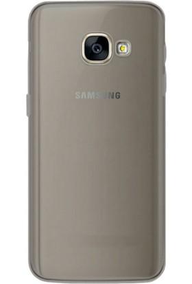 CaseUp Samsung Galaxy A3 2017, CaseUp İnce Şeffaf Silikon