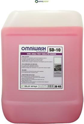 Omniwash Genel Amaçlı Yüzey Temizleyici 20 kg Sd10