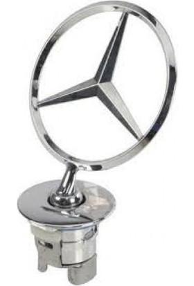 Mercedes Kaput Yıldızı w203, w204, w205 Ön Yıldız Amblem Orjinal