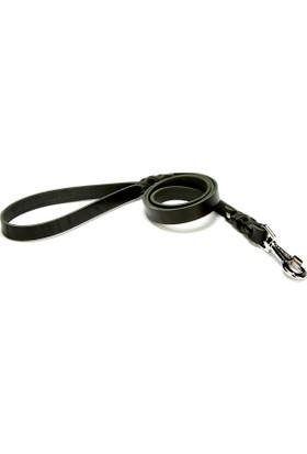 Doggie Klasik Eğitimci Gezdirmesi Siyah 2,0 X 120 cm