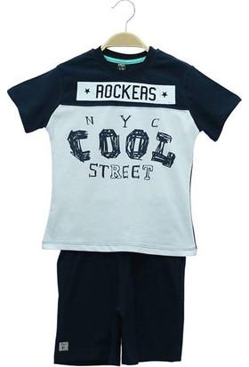 Cıgıt Kids Rockers Baskılı Kaprili Erkek Çocuk Takımı