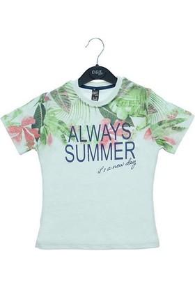 Cıgıt Kids Always Summer Kısa Kol Çocuk Tişörtü