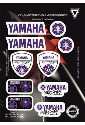 Vexo X23 Yamaha Stıcker Set Mavı