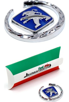 Simoni Racing Metal Peugeot Logo SMN103902