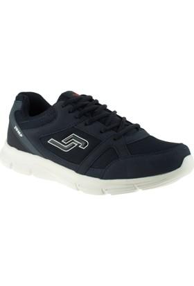 Jump 10555 Bağcıklı Lacivert Erkek Spor Ayakkabı