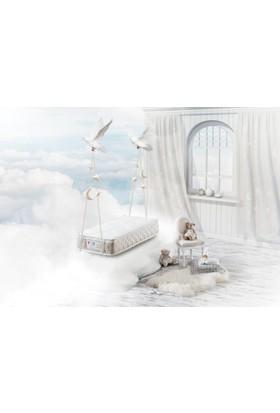 Hibboux Cloud Pocket Yaylı Bebek Yatağı 60 x 120 cm- Koşulsuz 100 Gün Deneme Süresi