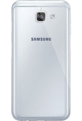 Dafoni Aircraft Samsung Galaxy A8 2016 Ultra İnce Şeffaf Silikon Kılıf