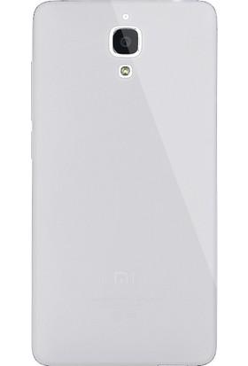 Dafoni Aircraft Xiaomi Mi 4 Ultra İnce Şeffaf Silikon Kılıf