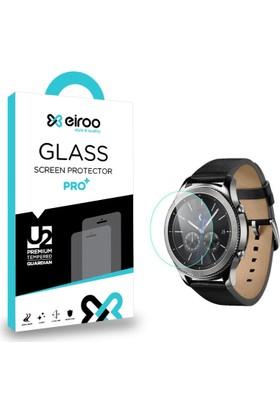 Eiroo Samsung Gear S3 Classic Tempered Glass Cam Ekran Koruyucu
