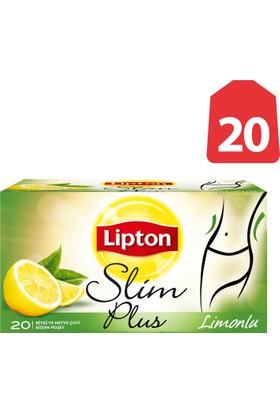 Lipton Bardak Poşet Bitki Ve Meyve Çayı Limonlu 20'Li