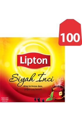 Lipton Bardak Poşet Çay Siyah İnci 100'Lü