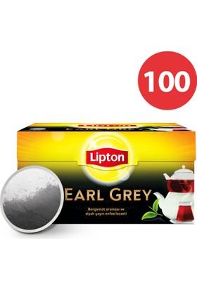 Lipton Demlik Poşet Çay Earl grey 100'Lü